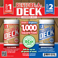 Deck Cleaners | Wood Stains Sealers | Maintenance | Sealing Restoring ...