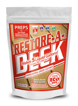 Restore-A-Deck Wood Cleaner