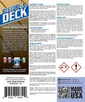 Restore A Deck Cleaner Brightener 1600 Kit