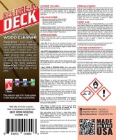 Restore-A-Deck Wood Cleaner Instructions