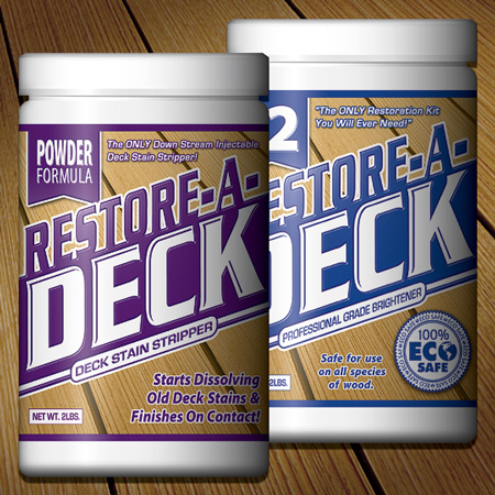 Restore a deck cleaner instructions for Revive deck cleaner